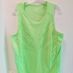 Champion neon green T